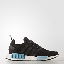 "Buty adidas NMD_R1 Women ""Core Black/Icey Blue"""