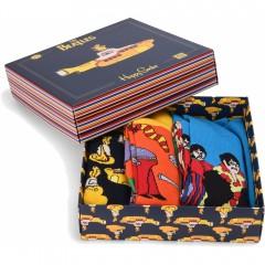 Giftbox 3-pak skarpety The Beatles x Happy Socks