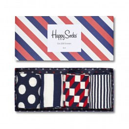 Zestaw skarpet Happy Socks Gift Box 4-Pak XBDO09-6