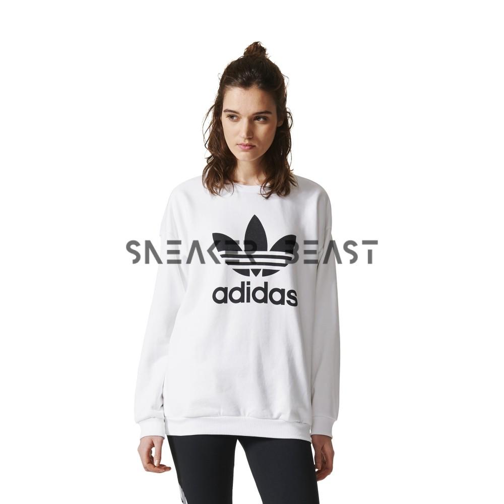 bluza adidas white trofil